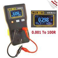 New MESR-100 V2 AutoRanging In Circuit ESR Capacitor Tester Meter 0.001 to 100R