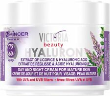 ANTI WRINKLE DAY NIGHT FACE CREAM FOR MATURE SKIN 50ML HYALURONIC ACID LICORICE