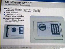 Elektronischer Tresor Minisafe Wandtresor Stahlschrank Geldschrank Geldsafe Safe