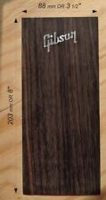 Rosewood HeadStock Veneer With A++ Mother of Pearl Logo #GRR