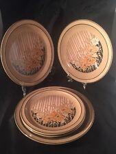 Vintage Retro DENBY SUMATRA Plates Handcraft 3 Large And 2 Small Plates