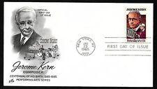 #2110 22c Jerome Kern - ArtCraft FDC