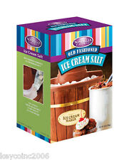 Nostalgia Electrics 4LB Ice Cream Rock Salt, 4 Lb