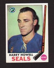 Harry Howell Oakland Seals 1969-70 Topps Hockey Card #79 EX/MT- NM