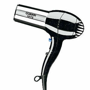 Conair 1875W Professional HAIR DRYER Blower Ionic with Concentrator Attachment