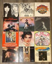 Vintage Lot (12) Vinyl LP's THIN LIZZY,HEART,BEATLES,SGT PEPPERS & More!