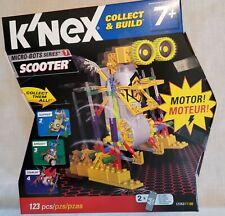 K'Nex Micro-bots Scooter, race car gray motor, wheels, classic, micro, Lego 7+