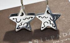 SILPADA HTF W0130  Sterling Silver Star Earrings  RARE!