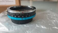 Fotodiox Pro Lens Adapter with Built-In Aperture Iris -Compatible with Canon EOS