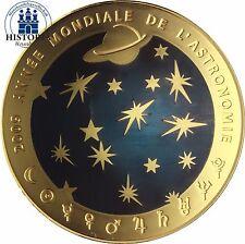 Frankreich 200 Euro Gold 2009 PP Goldmünze Astronomie 40 Jahre Mondlandung