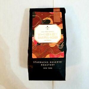 Starbucks Reserve Roastery Knob Creek Whiskey Barrel Aged Whole Bean Coffee 8 oz