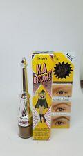 BENEFIT COSMETICS ka-BROW! Mini- Eyebrow Cream-Gel Color With Brush # 2 Color