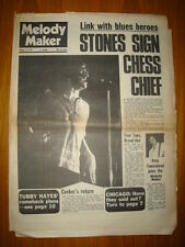 MELODY MAKER 1970 AUG 15 ROLLING STONES WHO TOWNSHEND