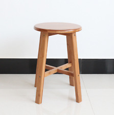 Natural bamboo wooden high stool round stool coffee tea plants stand 竹凳高脚凳咖啡凳