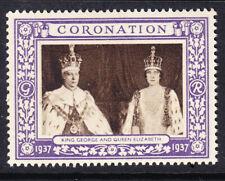 """GB  1937 Coronation """"Purple"""" - King George & Queen Elizabeth - Mint"""