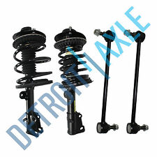 New 4pc: Kit Front Complete Ready Strut Assembly + Sway Bar Links Chrysler Dodge