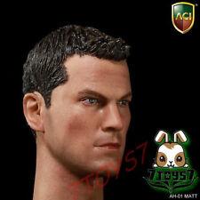 ACI Toys 1/6 AH01 Matt_ Head _no neck joint Movie stars Jason Bourne Now AT056A
