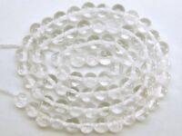 "FINE LARGE 5.5mm CRYSTAL ROUND Loose Gemstone Beads 14"""