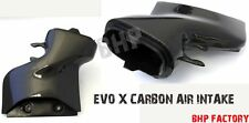 Mitsubishi Evo 10 X Véritable fibre de carbone boîte à AIR INTAKE PIPE Z0912