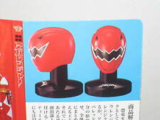 BANDAI Power Rangers Red Sentai Mask / Head Collection - Red Dino Thunder