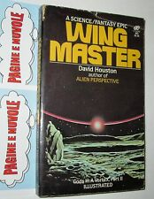 houston - WINGMASTER - leisure books - sf in inglese (1981) (4°)
