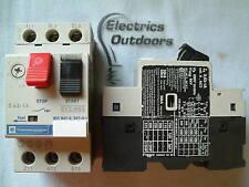 Telemecanique relé 0,63 - 1 Amp Manual Start Stop Switch gv2-m05 gv2m05 IEC 947
