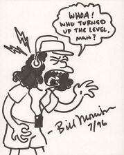 Otto Mann from the Simpsons - 1996 Signed art by Bill Morrison Comic Art
