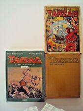 lot de trois anciennes  bandes dessinées de tarzan