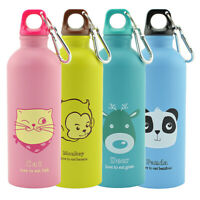 Stainless Steel Water Bottle Double Wall Vacuum Insulated Sports Flask 500ML NEW