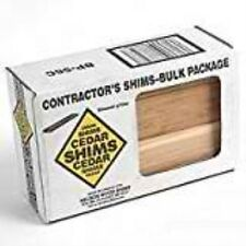 Nelson Wood Shims CSH8/56/120/MGD 8'' Bulk Contractor Shims
