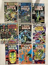 she-hulk comic 10 lot no #1 full run or CGC marvel Iron Man 6 10 16 17 21- 25