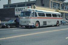 Wellesley Falls Taxi Gm Pd 4104 bus Ektachrome original Kodak slide