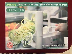 Spiralizer Ultimate 5 Blade  Vegetable Slicer