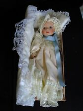 HANAH BABY PORCELAIN DOLL -12 INCHES - NEW OLD STOCK