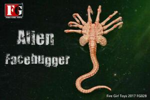 1/6 Scale Fire Girl Toys Alien Facehugge Scene Props FG028 Chestburster Predator