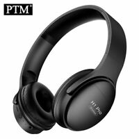 PTM H1 Bluetooth Headphones Wireless Headset Foldable Over-ear Noise Canceling