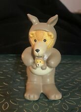 Lucy & Me Kangaroo Noah's Ark Bear Enesco Lucy Rigg 1991 - Rare