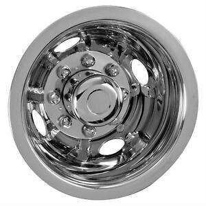"Fits Ford 16"" 8 lug motorhome hubcaps simulators snap on f350 e 350 e450 REAR"