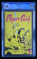 PAPER GIRLS #1 CGC 9.0 (10/15) WHITE PAGES BRIAN VAUGHN IMAGE AMAZON SHOW! 🔥