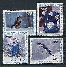 Kongo 1056/59 postfrisch / Olympiade - Wintersport .......................1/3216