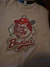 Fantastic Zombie Brains Baseball T-Shirt, Size Large, Great Condition!