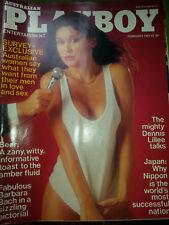 Australian Playboy Magazine - February 1981