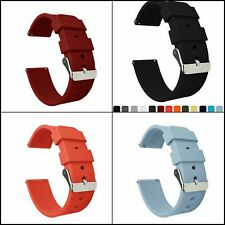 Barton Silicone Watch Bands Quick Release Straps 16mm, 18mm, 20mm, 22mm , 24mm