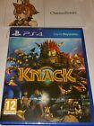 KNACK PS4 New Sealed UK PAL Version Game Sony PlayStation 4 ORIGINAL 2013 Game