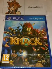 KNACK PS4 New Sealed UK PAL Version Game Sony PlayStation 4