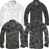 Brandit Slim Fit Shirt Hemd Army Camo Bundeswehr Camouflage Hemd Tarn bdu