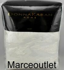 Donna Karan Home Seduction Collection Full / Queen Duvet Cover Ivory