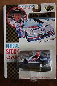 1992 Road Champs Mark Martin #6 Valvoline Ford Thunderbird 1/64