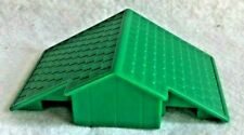 Lincoln Logs Replacement Roof Part Green Piece