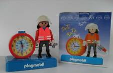 Playmobil Wecker Feuerwehr Kinderuhr Geschenk Kinder Kids Clock Fire Department